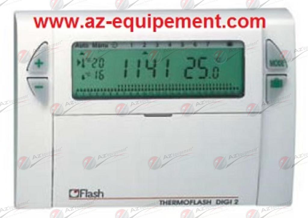 Horloge thermostat thermoflash digi 2 flash ho56120 - Thermoflash digi 2 ...