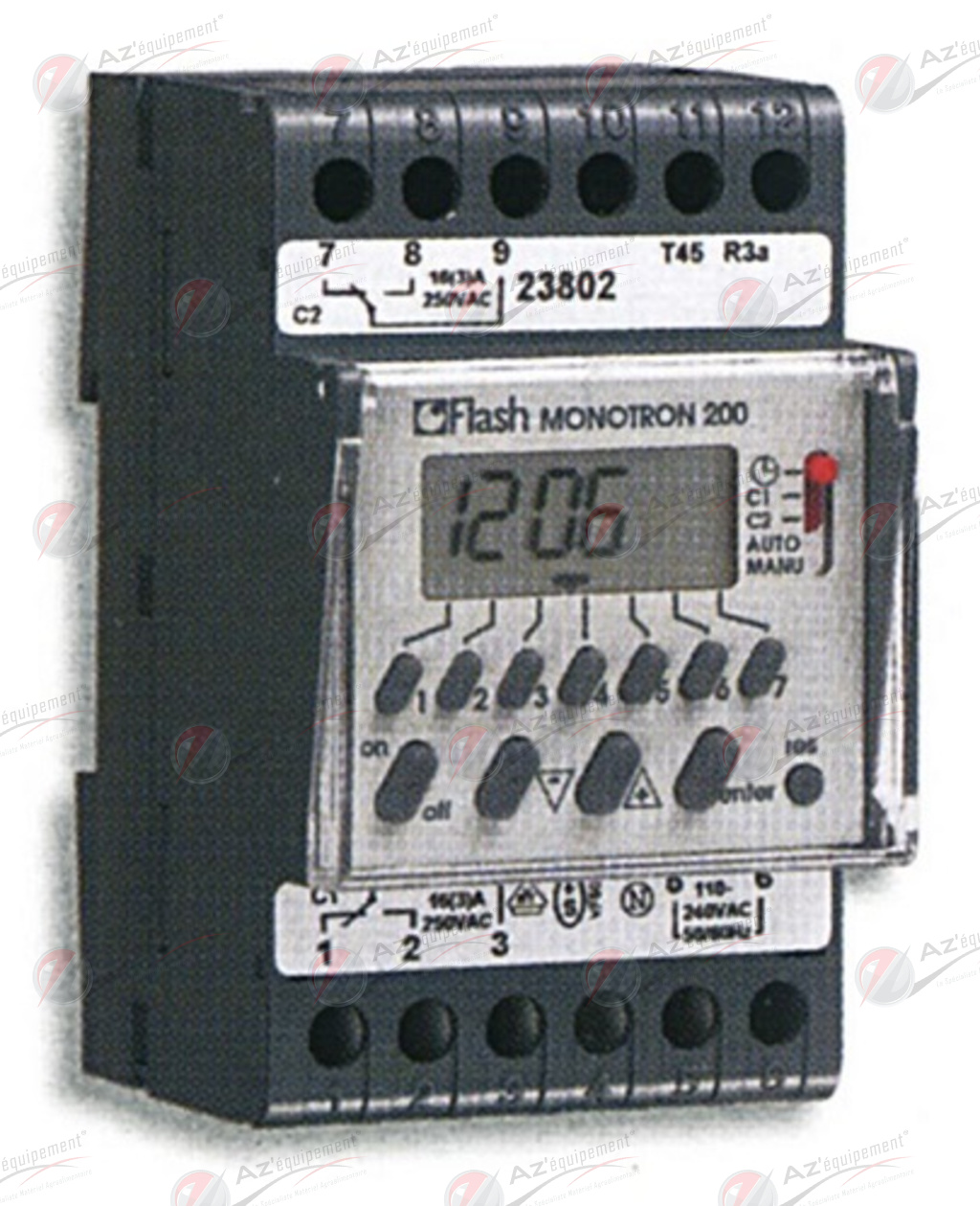 Horloge Flash Monotron 200 Flash Ho23802 Pieces